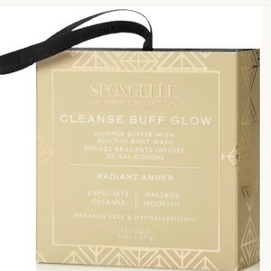 Spongelle shimmer collection cleanse buff glow